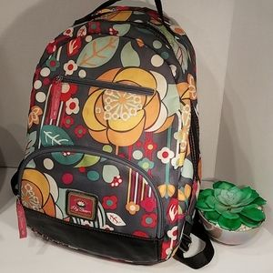 Lily Bloom Backpack Green Living Colorful